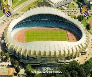 Puzle Estádio de Real Sociedad - Anoeta -