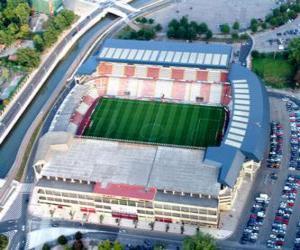 Puzle Estádio de Real Sporting de Gijón - El Molinón -