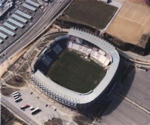 Puzle Estádio de Real Valladolid C. F. - José Zorrilla  -
