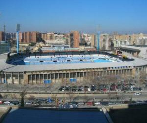 Puzle Estádio de Real Zaragoza - La Romareda -