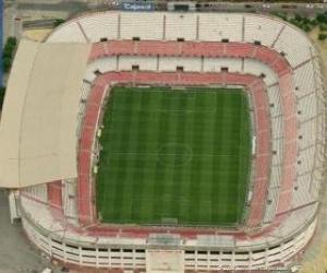 Puzle Estádio de Sevilla FC - Ramón Sánchez Pizjuán -