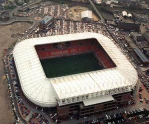 Puzle Estádio de Sunderland A.F.C. - Stadium of Light -