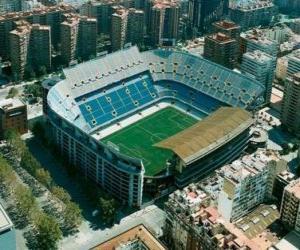 Puzle Estádio de Valencia C.F - Mestalla -