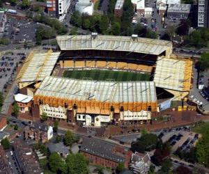 Puzle Estádio de Wolverhampton Wanderers F.C. - Molineux Stadium -