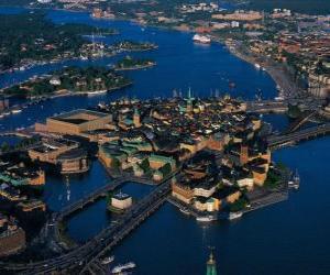 Puzle Estocolmo, Suécia