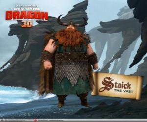 Puzle Estóico, o chefe tradicional Viking