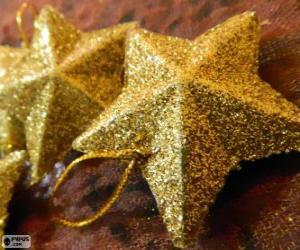 Puzle Estrela para árvore de Natal