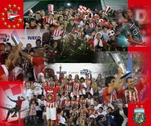 Puzle Estudiantes de La Plata - Campeonato Apertura 2010 na Argentina