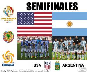 Puzle EUA-ARG, Copa América 2016
