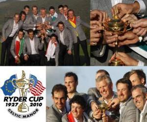 Puzle Europa ganha a Ryder Cup 2010