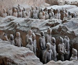 Puzle Exército de terracota, China