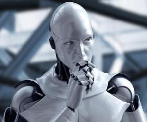 Puzle Extraterrestre robô