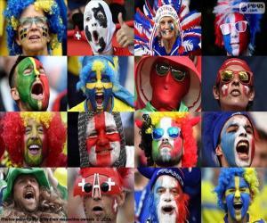 Puzle Fãs de Euro 2016