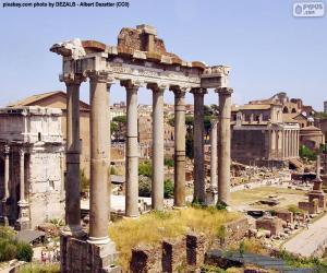 Puzle Fórum Romano, Roma