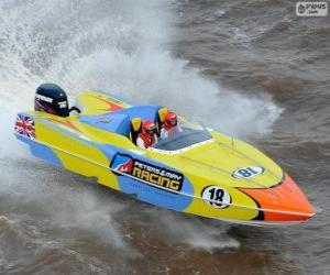 Puzle F1 Powerboat