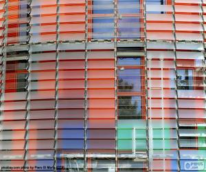 Puzle Fachada Torre Agbar, Barcelona