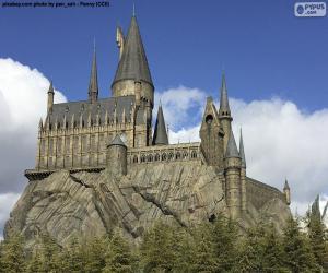 Puzle Faculdade de Hogwarts de Magia e Magia