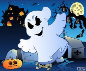 Puzle Fantasma desenho