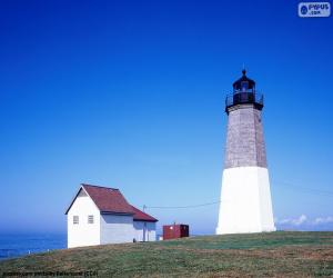 Puzle Farol Point Judith, Estados Unidos