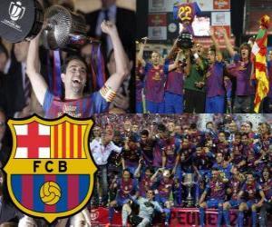 Puzle F.C Barcelona campeão da Copa del Rey 2011-2012