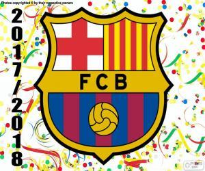 Puzle FC Barcelona, campeão de 2017-18