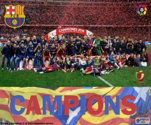 Puzle FC Barcelona, Copa del Rey 2015-16