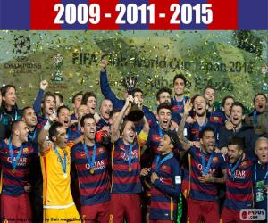Puzle FC Barcelona, Copa FIFA 2015