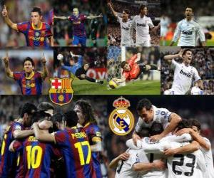 Puzle FC Barcelona VS Real Madrid, 2010-11
