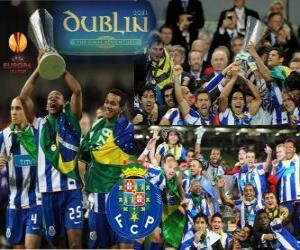 Puzle FC Porto, campeão da UEFA Europa League 2010-2011