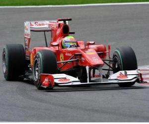 Puzle Felipe Massa - Ferrari - Spa-Francorchamps 2010