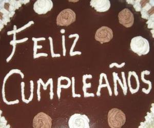 Puzle Feliz aniversário