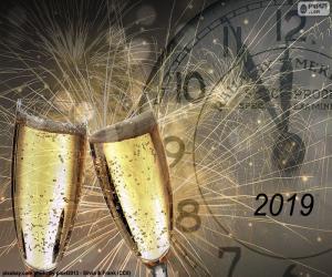 Puzle Feliz ano 2019
