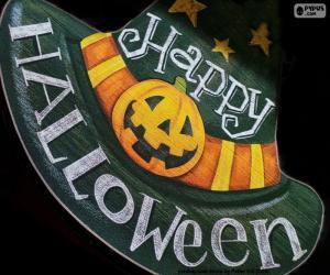 Puzle Feliz Dia das Bruxas ou Halloween