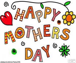 Puzle Feliz dia das mães