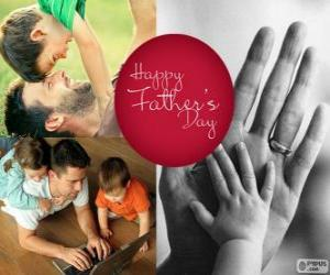 Puzle Feliz dia dos pais