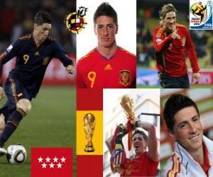 Puzle Fernando Torres (Isso nos fez sonhar), atacante da seleção espanhola