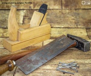 Puzle Ferramentas Carpinteiro