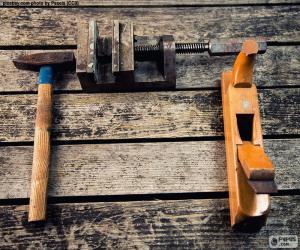 Puzle Ferramentas para trabalhar madeira