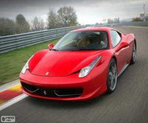 Puzle Ferrari 458 Italia