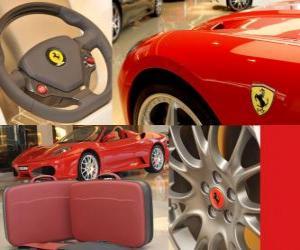 Puzle Ferrari extras