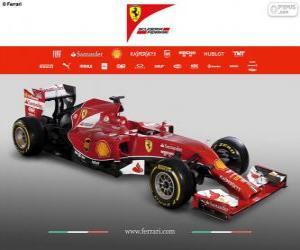 Puzle Ferrari F14 T - 2014 -