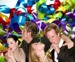 Puzle Festa de ano novo