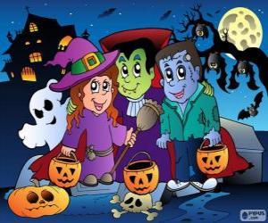 Puzle Festa de Halloween