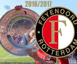 Puzle Feyenoord, campeão 2016-2017