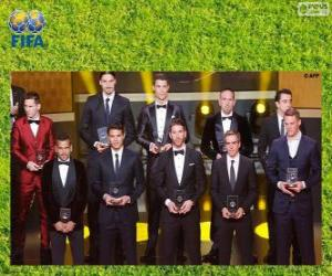 Puzle FIFA / FIFPro World XI 2013
