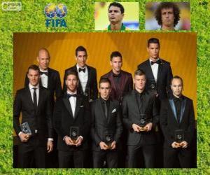 Puzle FIFA / FIFPro World XI 2014