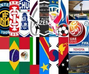 Puzle FIFA Club World Cup 2010 Emirados Árabes Unidos