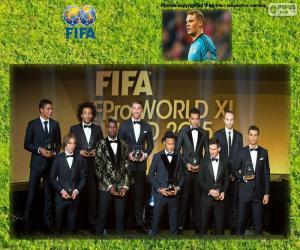 Puzle FIFA/FIFPro World XI 2015