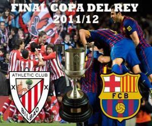 Puzle Final Copa do rei 2011-12, Athletic Club de Bilbao - FC Barcelona