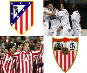 Puzle Final da Copa del Rey 09-10, Atlético de Madrid - FC Sevilla